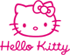 Logo Hello Kitty rose OK 09